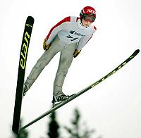 Hopp, 2. mars 2003, Junior-NM, Terje Morka, Gjerstad, ble nummer tre