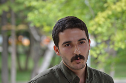 June 4, 2017 - Ankara, Turkey - Kamuran Akin, a former academic of Ankara University who was sacked by a decree-law during the state of emergency, gives a lecture on 'Geospatial and ecological devastation in the Kurdish cities' in Kurdish at the Kurtulus (Salvation) Park on June 4, 2017 in Ankara, Turkey. (Credit Image: © Altan Gocher/Pacific Press via ZUMA Wire)