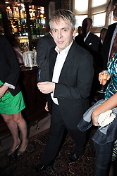 NICK RHODES at a party to celebrate the publication of Imperial Bedrooms by Bret Easton Ellis held at Mark's Club, 46 Charles Street, London W1 on 15th July 2010.