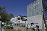 Berlin GERMANY.   Regatta Park Development nearing completion [Resorted building]  on the Regatta Strasse. [Berlin Grunau Spring Regatta [Beliner Fruh-Regatta 2010 Berlin-Grunau.].  Sunday   25/04/2010.  [Mandatory Credit. Peter Spurrier/Intersport Images]