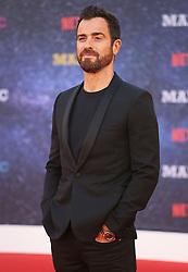 September 16, 2018 - London, England, United Kingdom - 9/13/18.Justin Theroux at the Netflix Television series premiere of ''Maniac''..(London, England, UK) (Credit Image: © Starmax/Newscom via ZUMA Press)