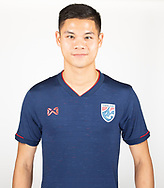 THAILAND - MARCH 18: Narubadin Weerawatnodom of Thailand National Football Team Photoshoot on March 18, 2019.<br /> .<br /> .<br /> .<br /> (Photo by: Naratip Golf Srisupab/SEALs Sports Images/MB Media Solutions)
