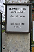 Berlin GERMANY.   Gv's General view of several  Boathouse on the Regatta Strasse.  Berlin Grunau Spring Regatta [Beliner Fruh-Regatta 2010 Berlin-Grunau.].  Saturday   24/04/2010.  [Mandatory Credit. Peter Spurrier/Intersport Images]