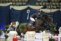 Crotta Clarissa, (SUI), Conte Bellini<br /> DKB-Riders Tour<br /> Grand Prix Kreditbank Jumping München 2015<br /> © Hippo Foto - Stefan Lafrentz