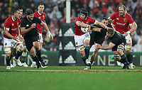 Rugby Union - 2017 British & Irish Lions Tour of New Zealand - Second Test: New Zealand vs. British & Irish Lions<br /> <br /> Sean O'Brien of The British and Irish Lions and Kieran Read of The All Blacks at Westpac Stadium, Wellington.<br /> <br /> COLORSPORT/LYNNE CAMERON