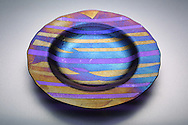 Hand-crafted Glass dish by Jackie Cromer