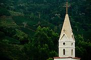 Alto Caparao_MG, 13 de Abril de 2009...Pinaculo da igreja na Cachoeira das Andorinhas em Alto Caparao...The church spire in Cachoeira das Andorinhas in Alto Caparao...Foto: BRUNO MAGALHAES / NITRO