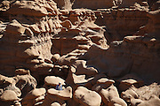 SHOT 10/19/16 1:40:49 PM - Emery County Utah tourism photos including hiking and exploring Goblin Valley including an arch rappel, the Black Dragon Canyon and  mountain biking Saucer Basin with Lamar Guymon. (Photo by Marc Piscotty / © 2016)