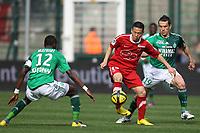 FOOTBALL - FRENCH CHAMPIONSHIP 2010/2011 - L1 - AS SAINT ETIENNE v VALENCIENNES FC - 3/04/2011 - PHOTO ERIC BRETAGNON / DPPI -  TAE HEE NAM (VA)