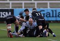 Rugby Union  - 2020 / 2021 Gallagher Premiership - Newcastle Falcons vs Gloucester - Kingston Park<br /> <br /> Gloucester have the ball during a maul<br /> <br /> COLORSPORT/BRUCE WHITE