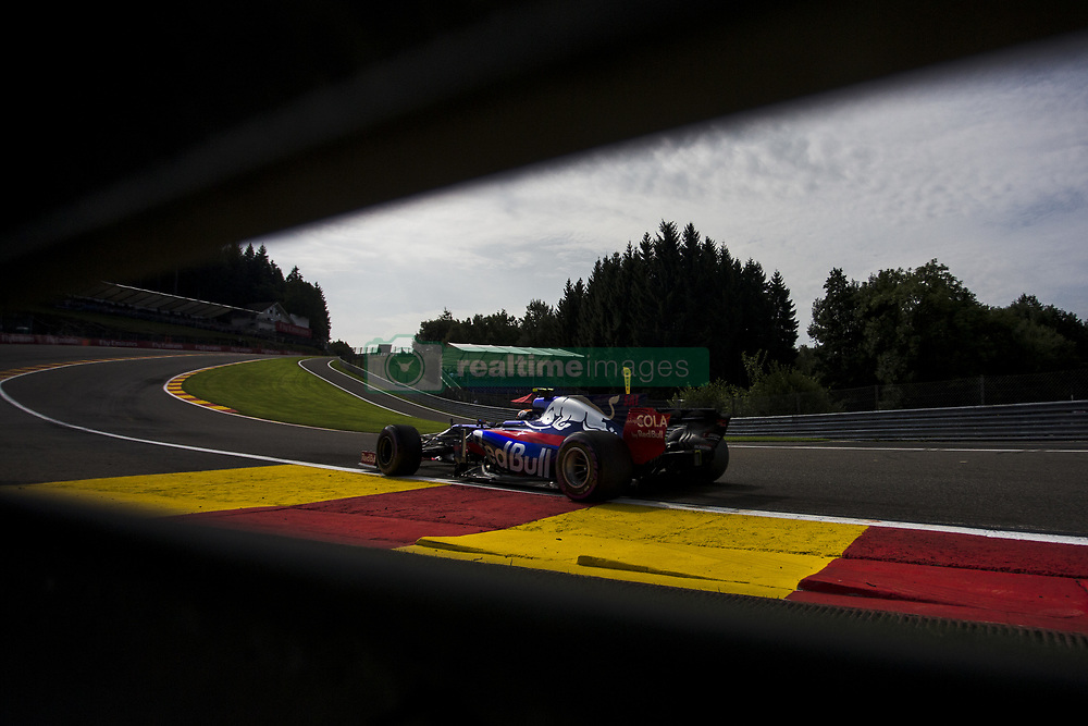 August 25, 2017 - Spa, Belgium - 55 SAINZ Carlos from Spain of team Toro Rosso during the Formula One Belgian Grand Prix at Circuit de Spa-Francorchamps on August 25, 2017 in Spa, Belgium. (Credit Image: © Xavier Bonilla/NurPhoto via ZUMA Press)