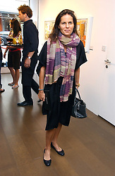 LUCY TANG at a private view of artist Damian Elwes work 'Artists Studios' held at Scream, 34 Bruton Street, London W1 on 29th June 2006.<br /><br />NON EXCLUSIVE - WORLD RIGHTS