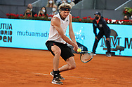 Alexander Zverev of Germany during the Men's Singles Final match against Matteo Berrettini of Italy at the Mutua Madrid Open 2021, Masters 1000 tennis tournament on May 9, 2021 at La Caja Magica in Madrid, Spain - Photo Laurent Lairys / ProSportsImages / DPPI