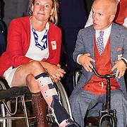 NLD/Scheveningen/20160713 - Perspresentatie sporters voor de Olympische Spelen 2016 in Rio de Janeiro, ...... en zeiler Rolf Schrama