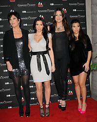 Kris Jenner, Kim Kardashian, Khloe Kardashian Odom and Kourtney Kardashian at The Kardashian Charity Knock Out held at The Commerce Casino in Commerce, Los Angeles, CA, USA on November 3, 2009. Photo by Debbie VanStory/ABACAPRESS.COM  | 207926_003 Los Angeles n