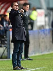 13-12-2015 NED: FC Utrecht - AFC Ajax, Utrecht<br /> Utrecht verslaat Ajax opnieuw in de Galgenwaard 1-0 / Coach Frank de Boer