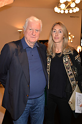 Friedrich Christian Flick and Guest at the 2017 PAD Collector's Preview, Berkeley Square, London, England. 02 October 2017.