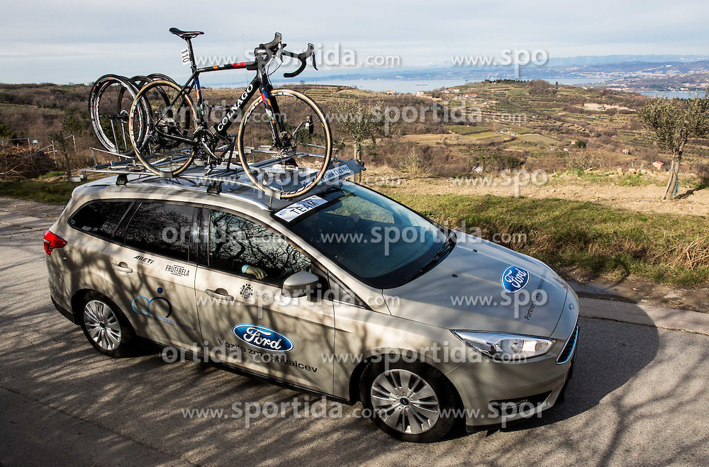 Ford Mondeo during the UCI Class 1.2 professional race 4th Grand Prix Izola, on February 26, 2017 in Izola / Isola, Slovenia. Photo by Vid Ponikvar / Sportida
