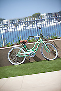 Local Beach Cruiser Bicycle at the Marina in Marina Del Rey California