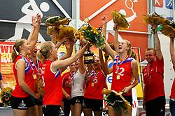 20140928 NED: Supercup, VC Sneek - Coolen Alterno: Sneek<br /> VC Sneek wint de Supercup 2014<br /> ©2014-FotoHoogendoorn.nl / Pim Waslander