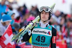 22.12.2013, Gross Titlis Schanze, Engelberg, SUI, FIS Ski Jumping, Engelberg, Herren, im Bild Rune Velta (NOR) // during mens FIS Ski Jumping world cup at the Gross Titlis Schanze in Engelberg, Switzerland on 2013/12/22. EXPA Pictures © 2013, PhotoCredit: EXPA/ Eibner-Pressefoto/ Socher<br /> <br /> *****ATTENTION - OUT of GER*****