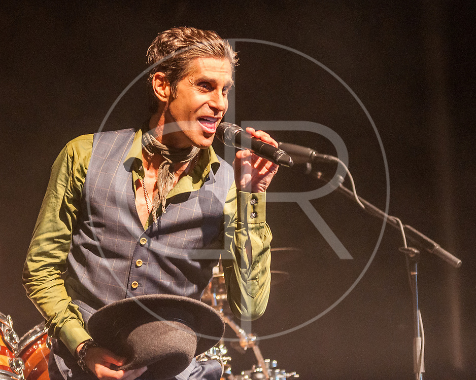 BALTIMORE United States - September 27, 2014: Perry Farrell of Jane's Addiction, performs at The Shindig, in Baltimore's historic Carroll Park