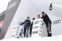 18.01.2018, Hahnenkamm, Kitzbühel, AUT, FIS Weltcup Ski Alpin, Kitzbuehel, Abfahrt, Herren, 3. Training, im Bild Markus Waldner (FIS Chef Renndirektor Weltcup Ski Alpin Herren) im Starthaus der Streif // Markus Waldner Chief Race Director World Cup Ski Alpin Men of FIS at the Starthouse of the Streif in action during the 3rd practice run of men's Downhill of FIS Ski Alpine World Cup at the Hahnenkamm in Kitzbühel, Austria on 2018/01/18. EXPA Pictures © 2018, PhotoCredit: EXPA/ Johann Groder