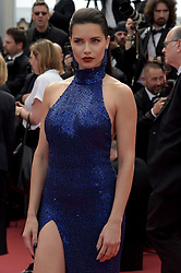 Adriana Lima attending the Oh Mercy! premiere, during the 72nd Cannes Film Festival