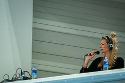 Manon Nummerdor-Flier in action during the Women's friendly match between Netherlands and Belgium at Sporthal De Basis on may 19, 2021 in Sliedrecht, Netherlands (Photo by RHF Agency/Ronald Hoogendoorn)