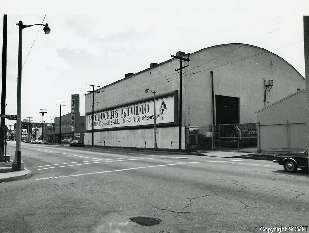 1971 Producers Studio on Melrose Ave.