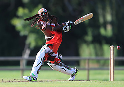 Maasai Warriors' cricket team play against Vale of Belvoir Cricket Club during their UK tour to raise awareness of gender inequality, the End FGM Campaign, hate crime, modern slavery, conservation and promoting their culture and country, Kenya