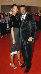 The 27th Kennedy Center Honors Red Carpet Arrivals on December 5, 2004 in Washington DC, USA. The 2004 Honorees includes Elton John and Warren Beatty. Sean Puffy Combs and wife Kim Porter. Photo by Olivier Douliery/ABACA.  | 69853_09