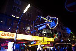 19.02.2015, Grosse Freiheit 36, Hamburg, GER, Eurovision Song Contest 2015, Vorentscheidung, Beitrag Deutschland, im Bild Der Club von aussen // during the preliminary decision of the Song Contest 2015 at the club Grosse Freiheit in Hamburg, Germany on 2015/02/19. EXPA Pictures © 2015, PhotoCredit: EXPA/ Eibner-Pressefoto/ Eibner-Pressefoto<br /> <br /> *****ATTENTION - OUT of GER*****