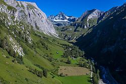THEMENBILD - Grossglockner (3798 m ü. A.) höchster Berg Österreichs, im Vordergrund das Ködnitztal, Kals, Österreich am Freitag den 21. August 2020 // Grossglockner peak (3798 m above sea level) highest mountain in Austria, in the foreground the Koednitz valley. Kals, Austria on Friday August 21, 2020 EXPA Pictures © 2020, PhotoCredit: EXPA/ Johann Groder