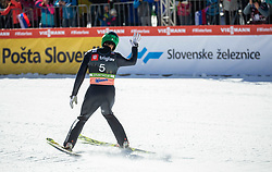 Robert Kranjec (SLO) during the Trial Round of the Ski Flying Hill Individual Competition at Day 1 of FIS Ski Jumping World Cup Final 2019, on March 21, 2019 in Planica, Slovenia. Photo by Vid Ponikvar / Sportida