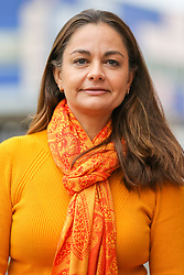 © Licensed to London News Pictures. 21/11/2019. London, UK. London Mayoral candidate, SIOBHAN BENITA<br /> visitsKaramel Cafe - a creative regeneration charity in Hornsey and WoodGreen, north London. Photo credit: Dinendra Haria/LNP