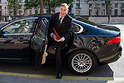 Jacob Rees-Mogg MP, Leader of the House of Commons arrives at the Cabinet office in Whitehall, London, United Kingdom on 20th August 2019.