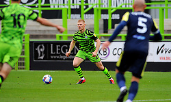 Elliott Whitehouse of Forest Green Rovers looks for a pass- Mandatory by-line: Nizaam Jones/JMP - 17/10/2020 - FOOTBALL - innocent New Lawn Stadium - Nailsworth, England - Forest Green Rovers v Stevenage - Sky Bet League Two