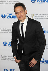 March 9, 2018 - New York, NY, USA - March 8, 2018  New York City..Elon Gold attends the 2018 World Values Network Champions of Jewish Values Awards Gala at The Plaza Hotel on March 8, 2018 in New York City. (Credit Image: © Kristin Callahan/Ace Pictures via ZUMA Press)