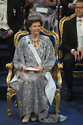 Kˆnigin Silvia bei der Nobelpreisverleihung 2016 in der Konzerthalle in Stockholm / 101216 <br /> <br /> ***The annual Nobel Prize Award Ceremony at The Concert Hall in Stockholm, December 10th, 2016***