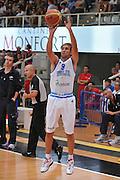 Trento 27 Luglio 2012 - Trentino Basket Cup - Italia Montenegro - <br /> Nella Foto : GIUSEPPE POETA<br /> Foto Ciamillo/M.Gregolin