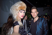 Jodie Harsh and Dickie Storer, Weinstein Bafta after-party in association with Chopard. Bungalow 8. London. 10  February 2008.  *** Local Caption *** -DO NOT ARCHIVE-© Copyright Photograph by Dafydd Jones. 248 Clapham Rd. London SW9 0PZ. Tel 0207 820 0771. www.dafjones.com.