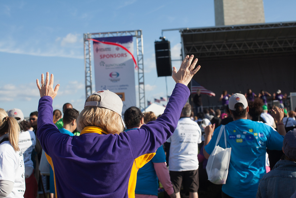 The 9th National Walk for Epilepsy was held on Saturday, April 11 2015 in Washington, D.C.