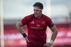 September 1, 2018 - Limerick, Ireland - Billy Holland of Munster looks on during the Guinness PRO14 rugby match between Munster Rugby and Toyota Cheetahs at Thomond Park Stadium in Limerick, Ireland on September 1, 2018  (Credit Image: © Andrew Surma/NurPhoto/ZUMA Press)
