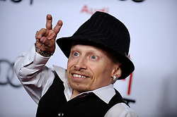 """File photo - """"Verne Troyer attends the premiere of """"""""The Imaginarium of Doctor Parnassus"""""""" during AFI FEST 2009. Los Angeles, California on November 2, 2009. Verne Troyer, who is best known for playing Mini-Me in the Austin Powers films, has died at the age of 49. Troyer, who was 81cm tall, also played Griphook in the first Harry Potter film. Photo by Lionel Hahn/ABACAPRESS.COM (Pictured: Verne Troyer)"""""""
