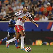Thierry Henry, New York Red Bulls, in action during the New York Red Bulls Vs San Jose Earthquakes, Major League Soccer regular season match at Red Bull Arena, Harrison, New Jersey. USA. 19th July 2014. Photo Tim Clayton