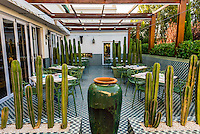 Makaron Restaurant, Majeka House Hotel, Stellenbosch, Cape Winelands, South Africa.