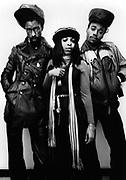 Black Uhuru New York photosession 1981 - Michael Rose, Duckie Simpson and Puma