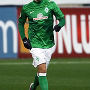 Werder Bremen's Aaron Hunt during their Tuttur.com Cup matchday 2 soccer match Trabzonspor between  Werder Bremen at Mardan stadium in AntalyaTurkey on 07 Monday January, 2013. Photo by Aykut AKICI/TURKPIX
