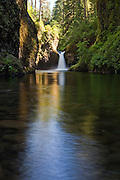 Punchbowl Falls along the Eagle Creek Trail, Columbia River Gorge National Scenic Area, Oregon.